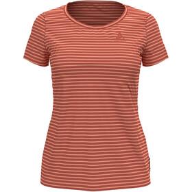 Odlo Concord Element T-Shirt S/S Crew Neck Women, rojo/naranja